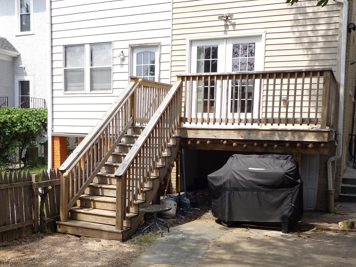Our Unstained U0027beforeu0027 Deck ...